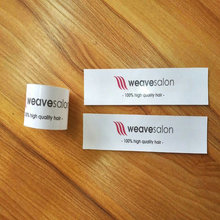 Custom Private Labels Wraps Tags <strong>Logo</strong> Pack For Hair Extensions,Personal Business Private Name Hair Wraps For Bundles