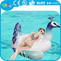 Inflatable peacock float, custom inflatable pool toys, large inflatable pool toys