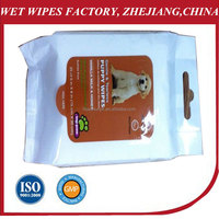 Wholesale 2014 New Pet Dog Products/Cleaning Pet Wet Wipe /pet cleaning wipe