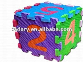 multi-color waterproof eva foam table mats