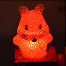 2014 new style EVA color changing romantic LED lighting rabbit for house decoration or party occasion