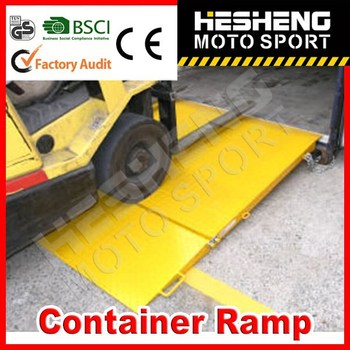 HESHENG 2014 HOT SELL Container Ramp with CE approved
