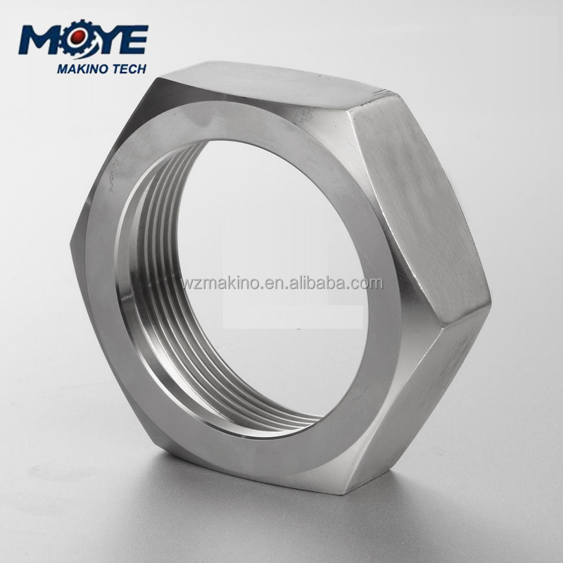 Saniatary Stainless Steel Bevel Seat Fitting Hex Union Nut (3A)