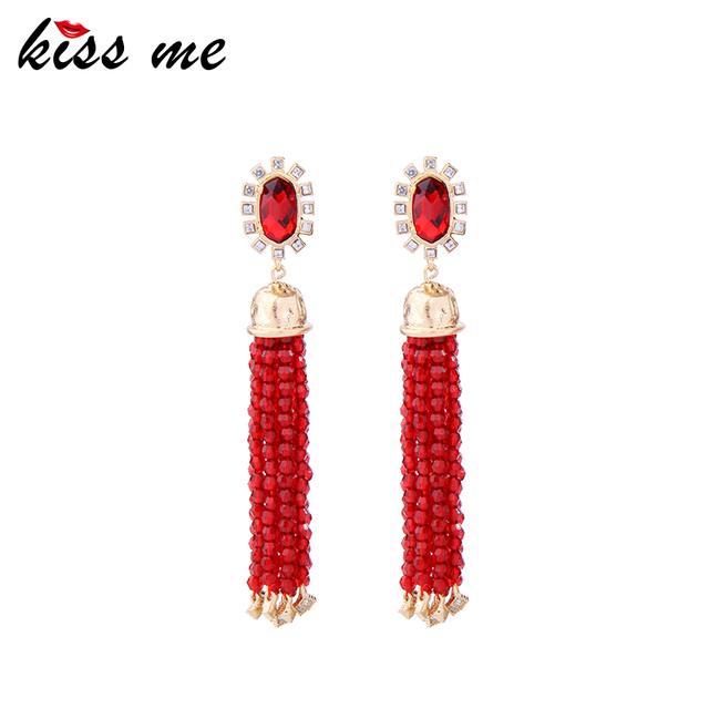 ed001c Beaded Making Fashion Colorful Fine Earrings, Bohemia Style Lovisa Earrings