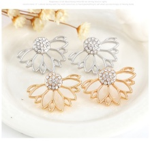 for Women Fashion Jewelry Double Side Docona Sparking Alloy <strong>Earrings</strong>