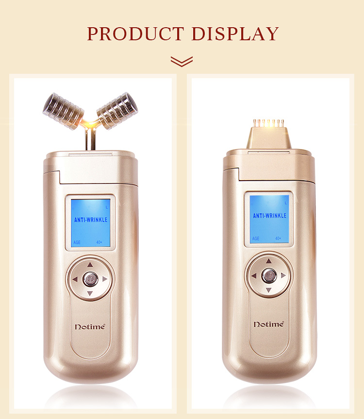Household beauty instruments micro current skin care face lift compact lymphatic detoxification wrinkle elimination