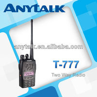 T-777 vhf fm transceiver with 1200mAh Li-ion battery