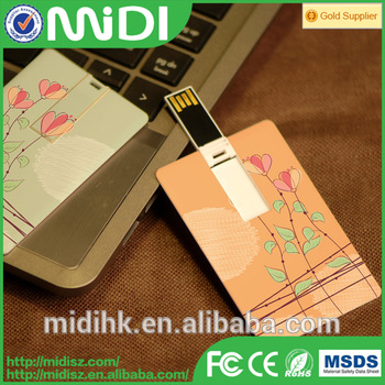 China gift items Custom usb pen drive promotional usb with logo plastic card memory stick 4gb 8gb usb flash drive