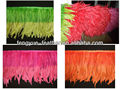 10-12 inch Rooster feather trimming(Dip dye two tone )