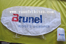 advertising dual line paraglider kite power kite from the kite factory