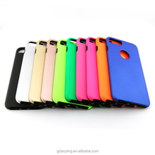 360 back case and cover 2 in 1 hard plastic, 360 degree mobile phone cases for iPhone 6 6 plus