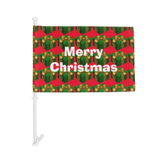 Merry christmas business promotion car flag gifts