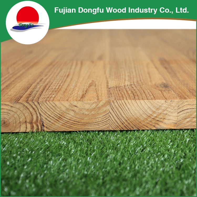 Eco-Friendly Custom Pine Rubber Oak Wooden Finger Joint laminated Board