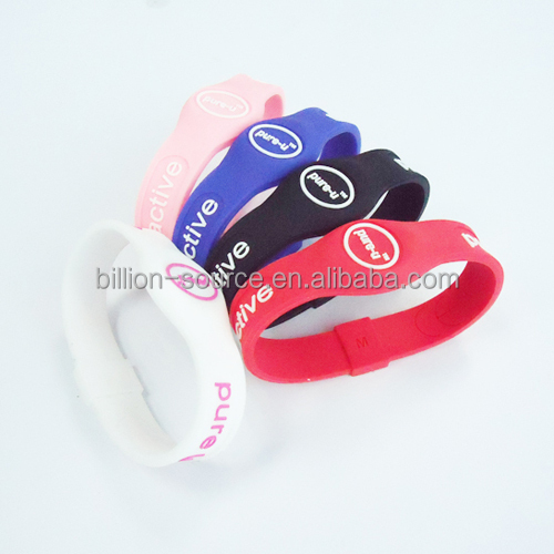 Sport health best friend silicone negative ion band