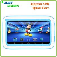 Gold Supplier tablet kids 7 inch 512MB 8GB Android 4.2 Allwinner A33 4-Core A33Q made in China