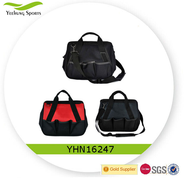 Heavy duty durable nylon kit bag tote tool bag