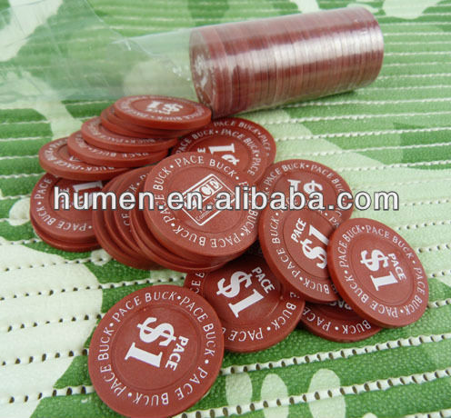 Guangdong promotional Plastic tokens