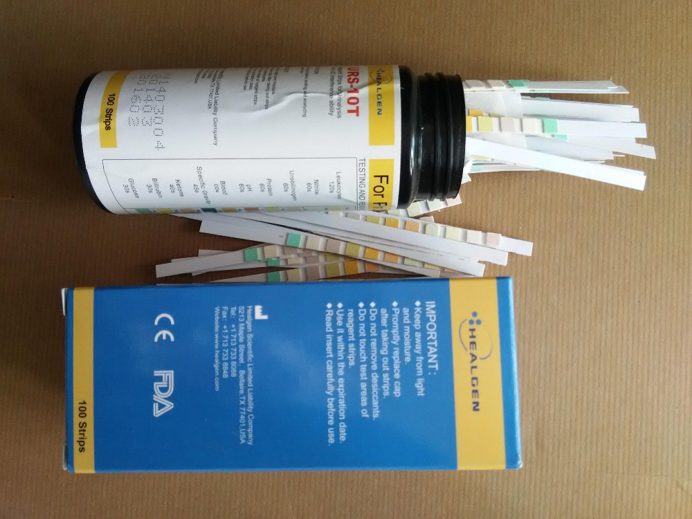 Health & Medical FDA CE medical ananlysis urnie test 100T/bottle