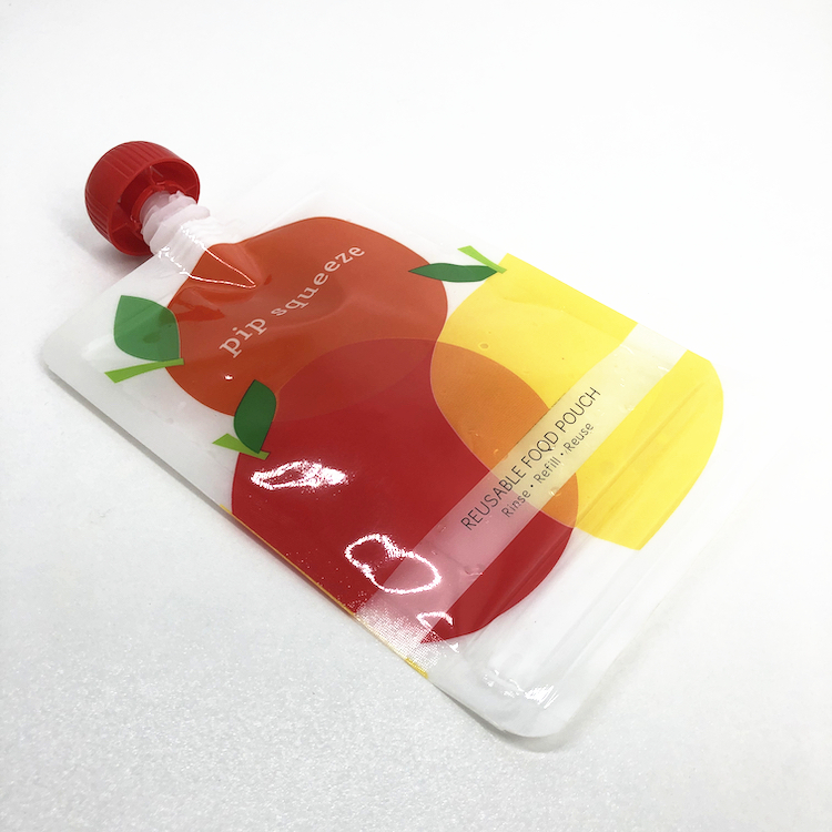<strong>fruit</strong> juice packaging Compostable spout pouch