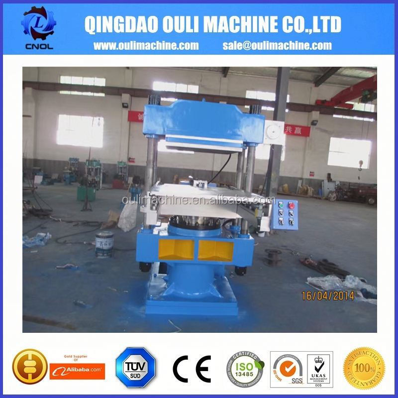 High Performance 2 Layer Rubber Shoe Sole Vulcanizing Press Machine