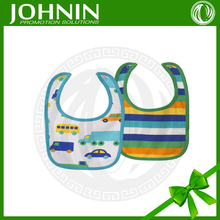 hot sale 100% cotton jersey interlock fabric baby bibs