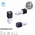 15.5W 5V3.4A 2 In 1 portable dual usb for iphone car charger