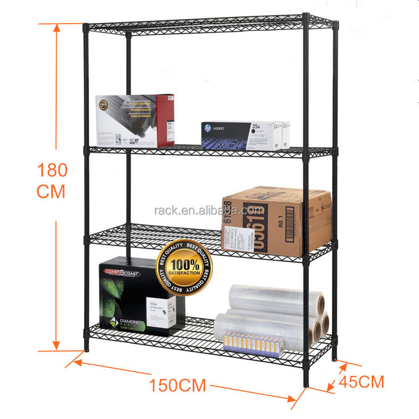 11L - 5 Tiers Space Saver Trade Show Display Shelving , NSF Approval