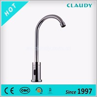 Brass Material Single Handle Automatic Faucet for Kitchen in Iran