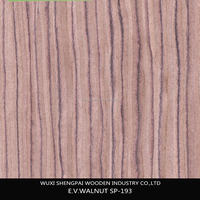 new item engineered reconstituted wood face veneer/recon walnut wood veneer for plywood