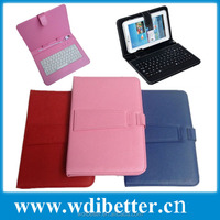Wired Leather Case Keyboard for 7inch Tablet PC for Samsung Galaxy