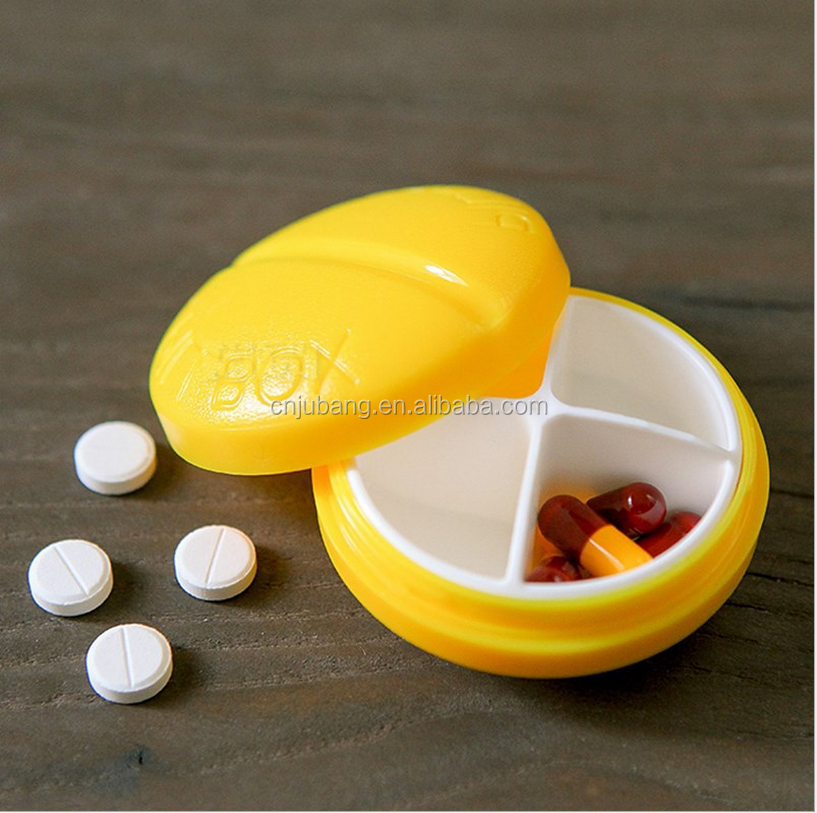 Colorful Pocket Pill Boxes Cases Medicine Pill Organizer Perfect for Travel / pill case