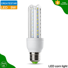 China Factory Directly Sale U Shape Bulb,30W 85-265V Cool White LED Bulb E27 With Glass Lamp Cover