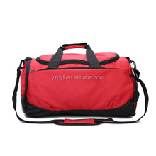 Fancy 600D nylon multi-functional sports shoes travel bag
