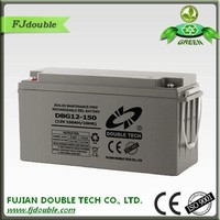 high quality solar gel battery 12v 150ah of motorcycle engine parts