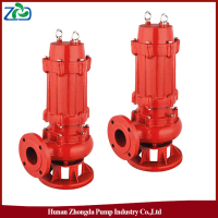 ZHONGDA WQ Series Low Energy Low Power Submersible Sewage Waste Water Pump