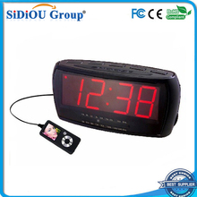 table dimmable acrylic led clock radio clock