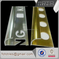 Carpet edge strip aluminum extrusion profile tile trim for marble edge