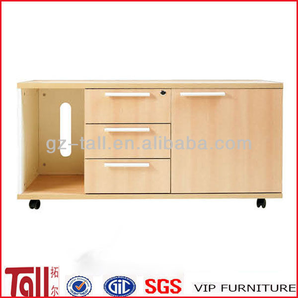 wooden storage cabinets with wheels TL-1211