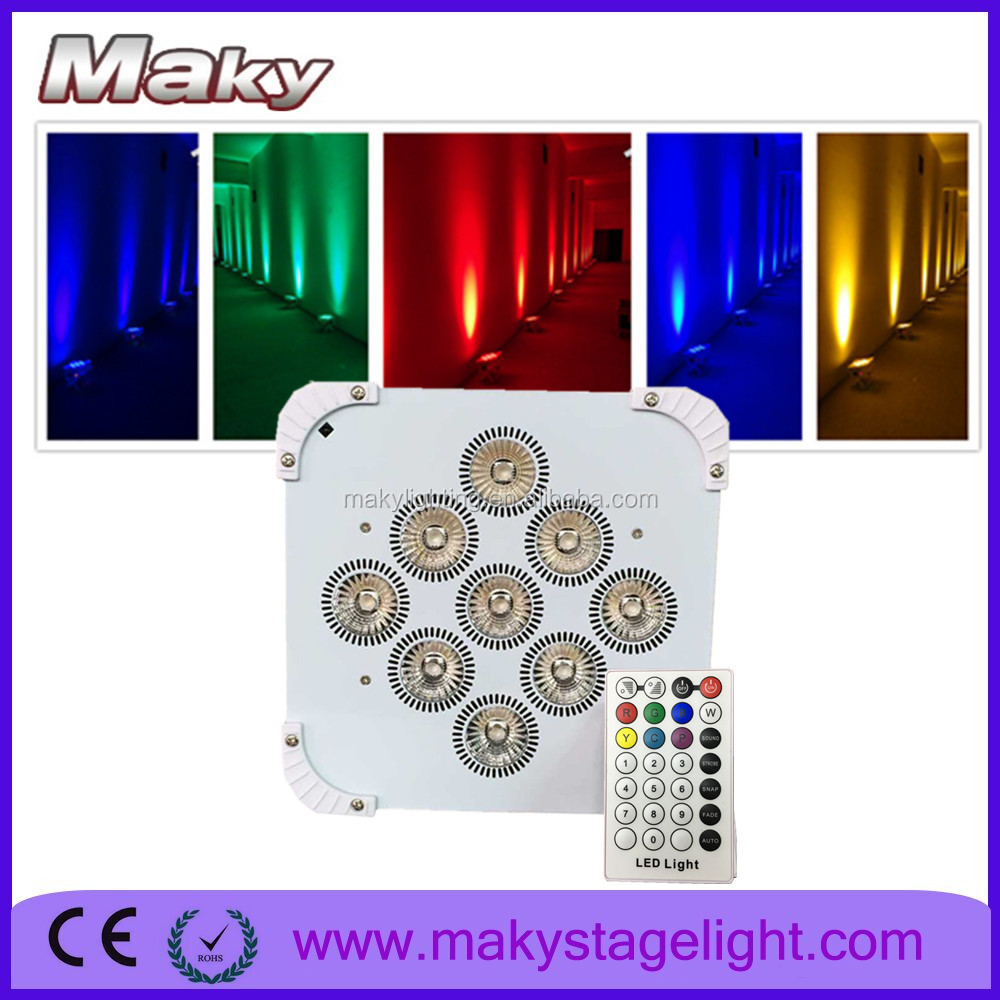 high brightness stage dj dxm control par can 18w wholesale led cob par light