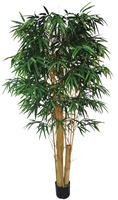Bamboo decorative artificial plants for garden decor