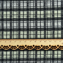 60% cotton 40% polyester 40s dyed yarn knit jacquard plaid fabric