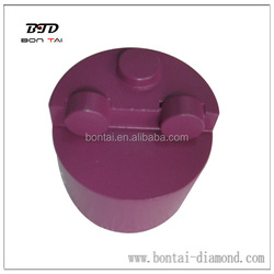 PCD diamond grinding plug for removing epoxy, glue, paint, coating from concrete floors