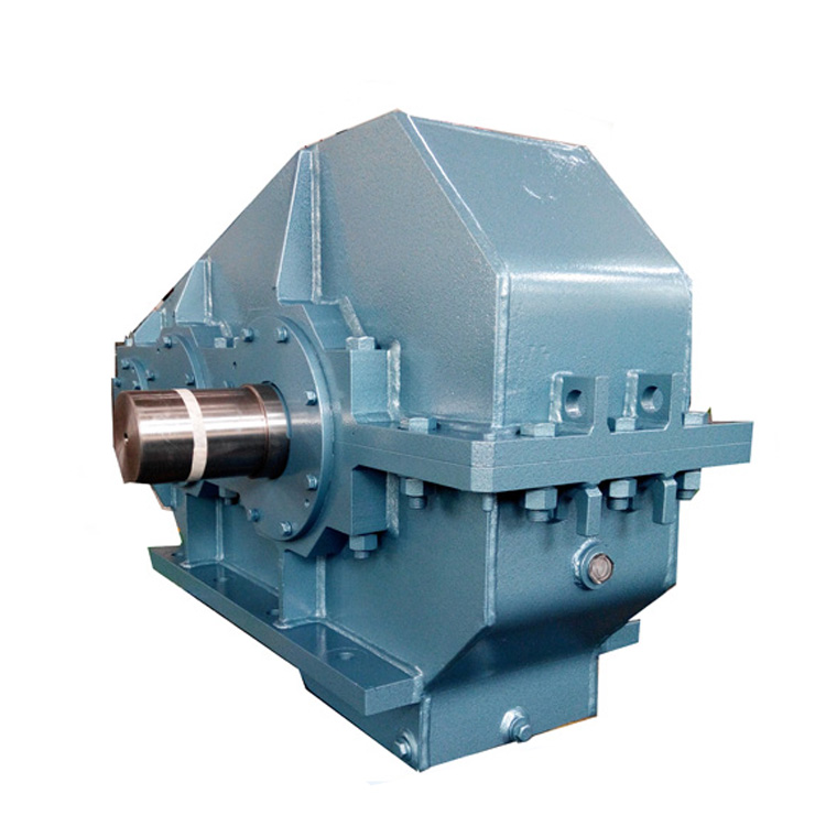 China Cylindrical gear For sugar Mill Drive bevel gearbox Cane Carrier gear unit DCY reducer unit