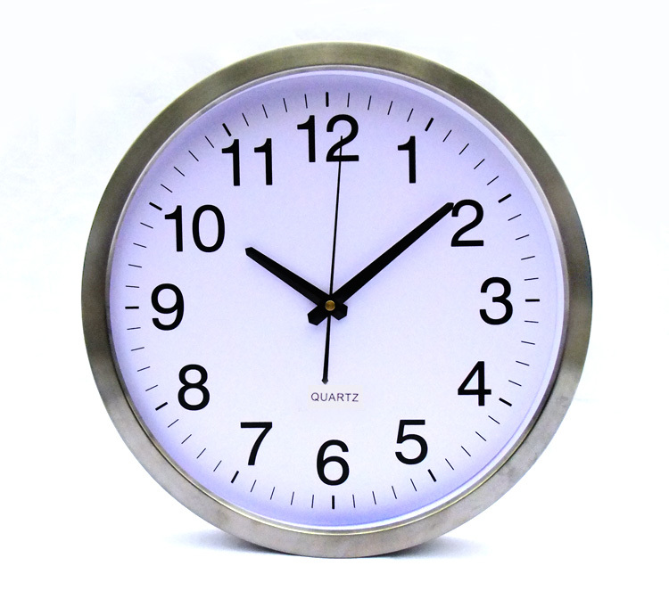 Alibaba Express White Color Wall Clock