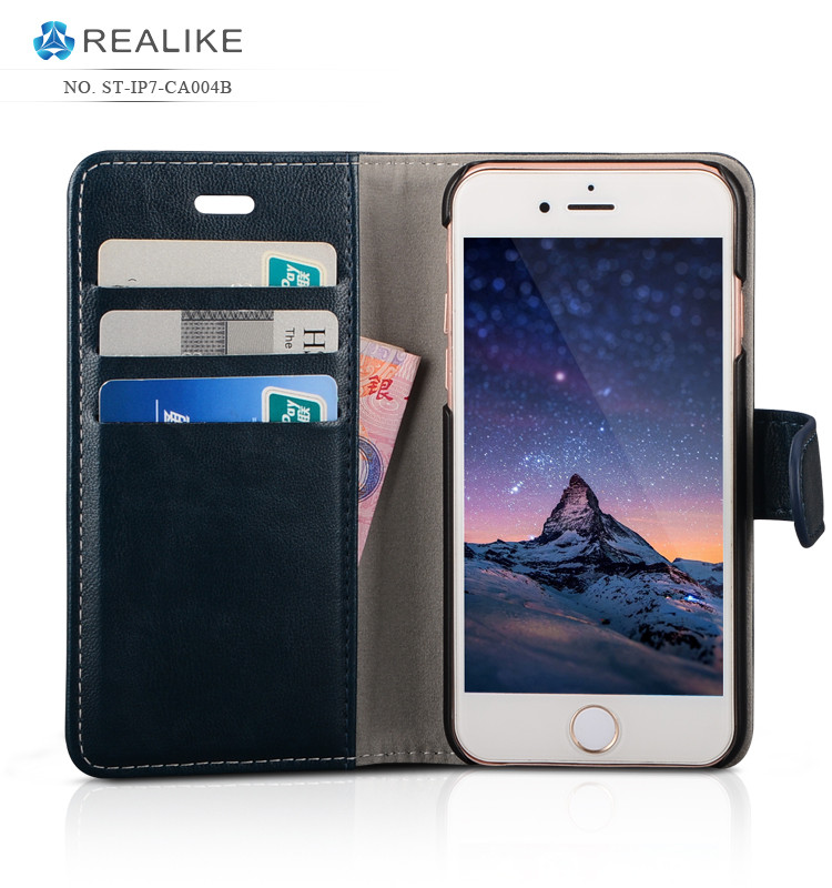 New coming wallet mobile phone rugged case cover for xiaomi redmi note 3