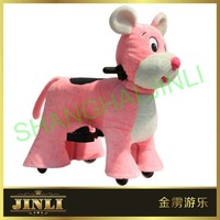 JL-S077 Special plush ride on animal car toy for kids best gift indoor and outdoor