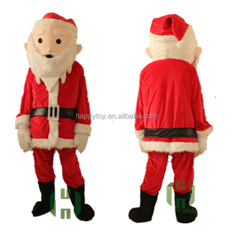 Custom Mascot Costume lyjenny For Christmas Eve Santa Claus Costume For Adults And Kids Funny Character Custom Costume For Party