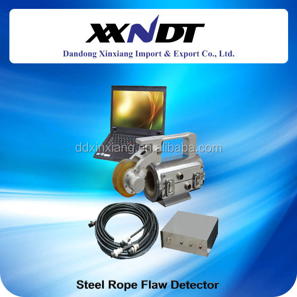 Steel wire rope flaw detector