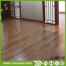 wood look plastic floor covering indoor sports flooring supplier from China