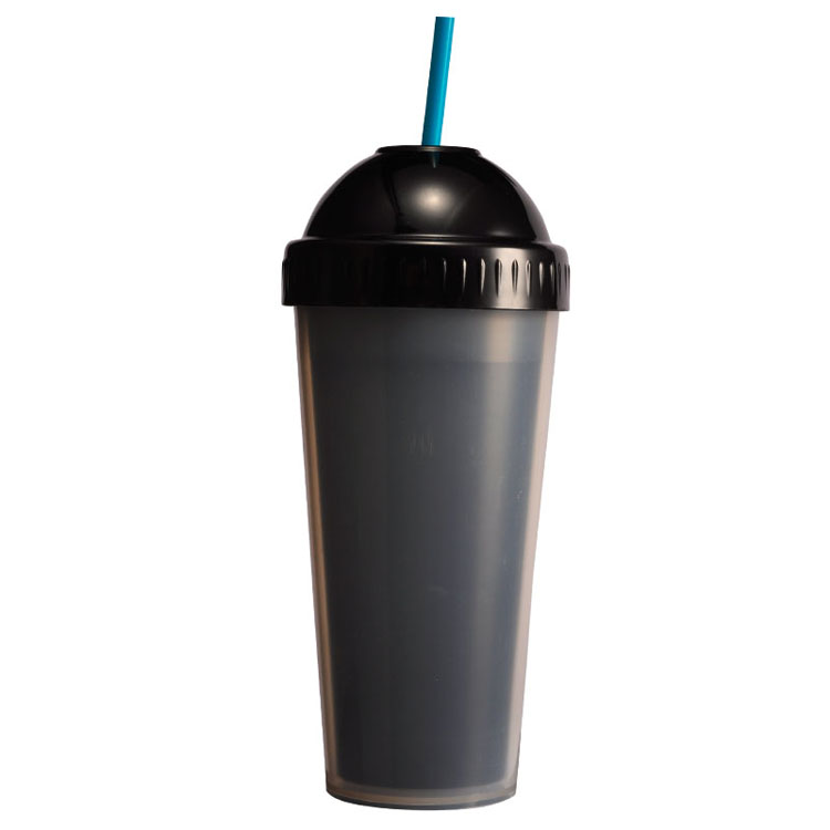 Cool Drinks Tumbler Juice Water Plastic Travel Tumbler with Straw
